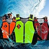 Gilet de Sauvetage Adulte, Gilet de Survie Dynamic Paddle Sports Life Vest avec sifflet durgence et Bandes Réfléchissantes Aide à la Flottabilité pour Kayak, Natation, Surf, 45-95 kg Adulte Unisexe