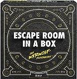 Mattel Games FWK72 - Escape Room In A Box Das Werwolf-Experiment Strategiespiel geeignet für 2 - 8 Spieler, Spieldauer unter 60 Minuten, Strategiespiele ab 13 Jahren