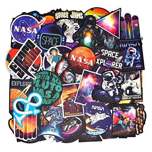 100PCS Rétro Vintage Stickers (Astronaute/Espace/Galaxie) Valise...