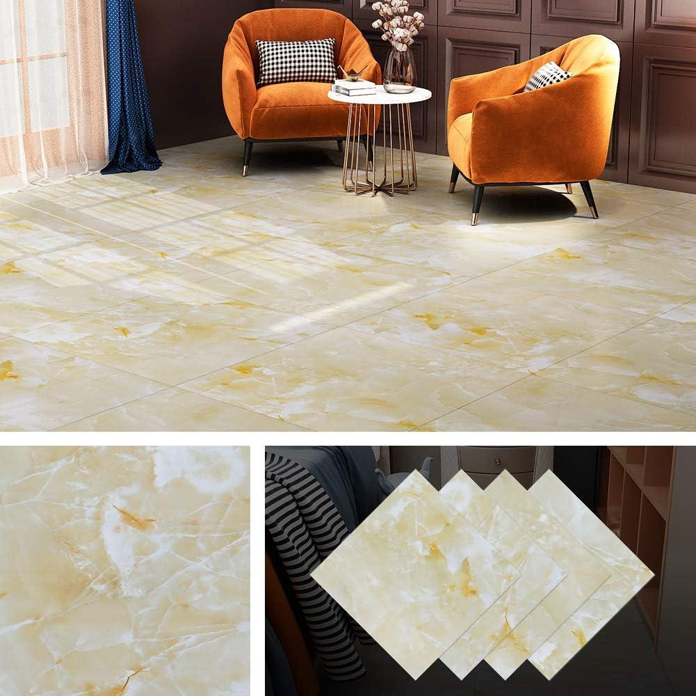 Buy Livelynine Peel And Stick Floor Tile Waterproof 12x12 Inch Beige Gold Marble Vinyl Flooring For Kitchen Living Room Bedroom Kids Room Rv Bathroom Flooring Self Adhesive Floor Tile Stickers 4 Pack