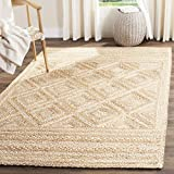 Safavieh Natural Fiber Collection NF925A Hand Woven Jute Area Rug (9' x 12')