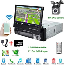 "Car Stereo in-Dash Single DIN 7"" HD Touch Digital Screen Head Unit Support Bluetooth.."