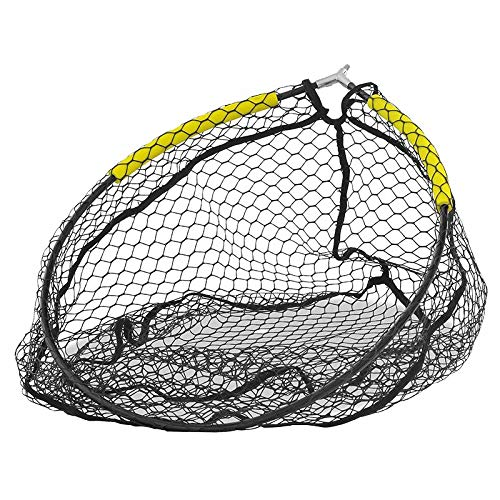 Tubertini Testa di Guadino da Pesca Testa Guadino Rubber Big Hole 60x50 cm per Mare Fiume Trota Lago Filettatura Universale