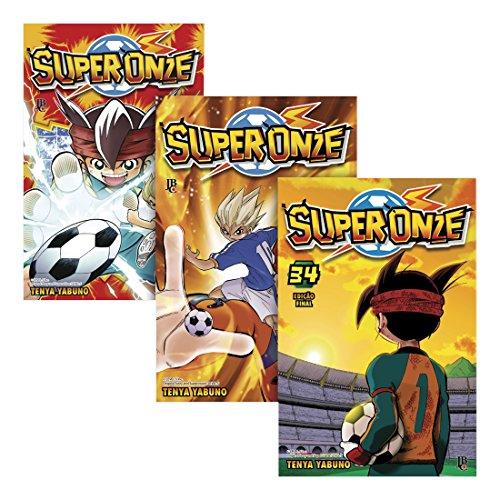 Coleção Super Onze - Caixa com Volumes 1 a 34