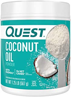 Sponsored Ad - Quest Nutrition Coconut Oil Powder, 20 Ounce (Pack of 1)