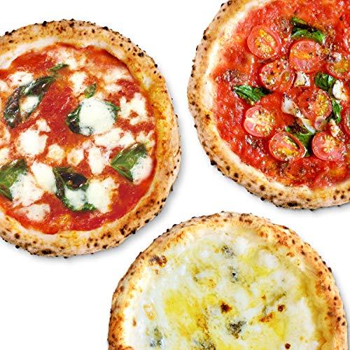 【公式】【冷凍ピザ】PIZZA SALVATORE CASA ナポリピッツァお試しセット 3枚 (マルゲリータ、4種のチーズ...