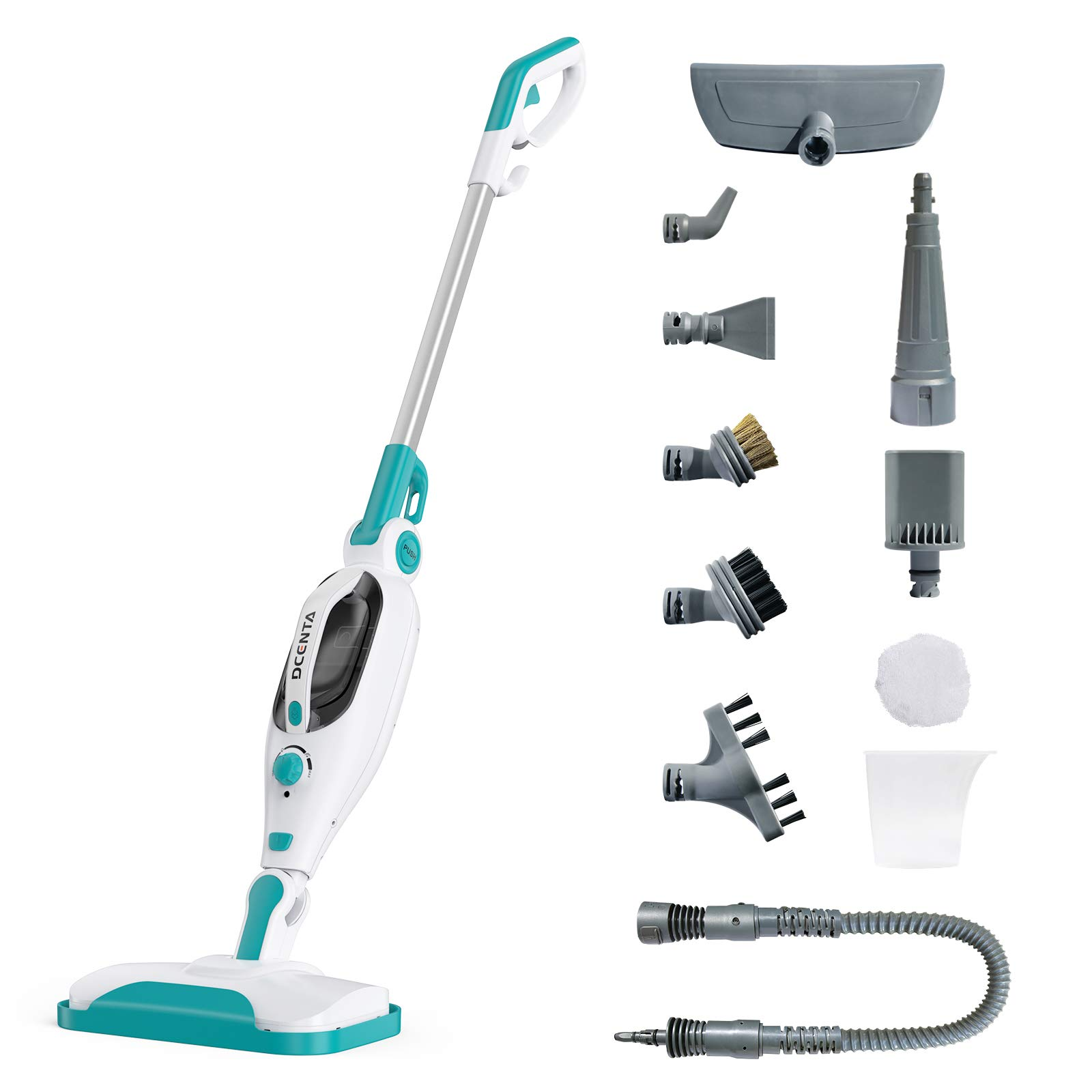 Dcenta 12 In 1 Multifunction Steam Mop 1500w Power Handheld Upright Floor Steam Cleaner For Floor Carpets Laminate Convenient Detachable Handheld Steam Cleaner Removes 99 9 Of Bacteria Amazon Co Uk Kitchen Home
