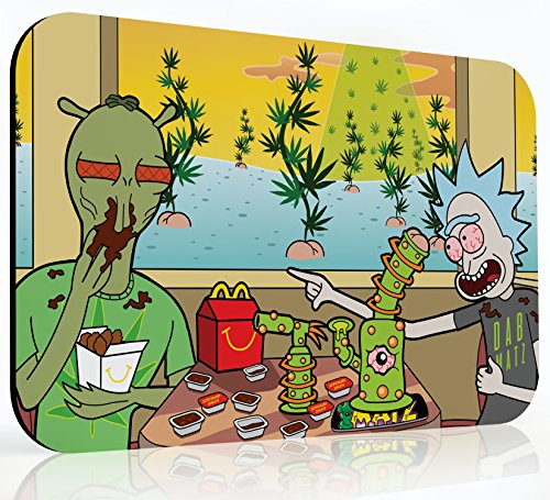 10x16 inch XXL Dab Mat - Szechuan Sesh at Shoneys - Mousepad | Dabpad | Coaster for Glass | Dabmatz...