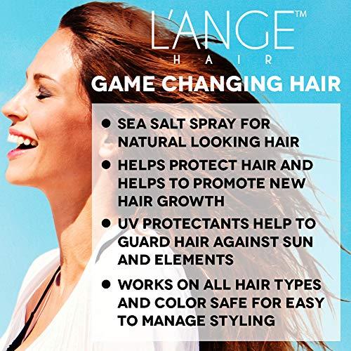 L'ange Hair Sea Salt Spray for Hair | Salt and Séa Hair Texturizing Spray to Help Improve Volume | Seasalt Texture Hairspray for Bouncy Beachy Waves & Windswept Look | Volumizing Hair Products 2