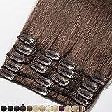 8'-24' Extension a Clip Cheveux Naturel Rajout Vrai Cheveux Humain Remy -...