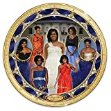Michelle Obama Porcelain Collector Plate from Bradford Exchange