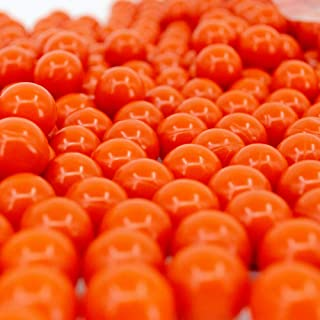 Valken Infinity Paintballs – 68cal – 2,000ct – Orange-Orange Fill