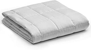 YnM Weighted Blanket — Heavy 100% Oeko-Tex Certified Cotton Material with Premium Glass..
