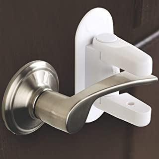 Door Lever Lock (2 Pack) Child Proof Doors & Handles 3M Adhesive – Child Safety By Tuut
