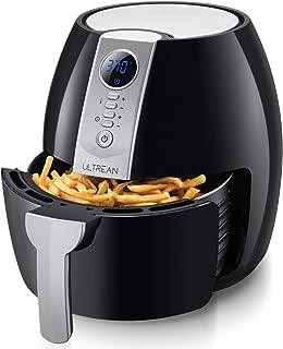 Ultrean Air Fryer, 4.2 Quart (4 Liter) Electric Hot Air Fryers Oven Oilless Cooker with..