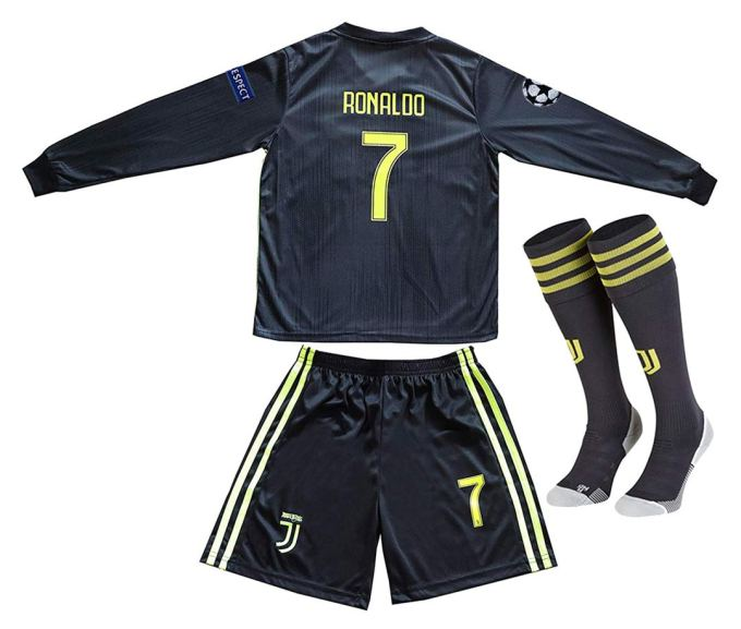 new york 8a6bd b1c9c Offshore fireworks Juventus 2018-2019 Season #7 Ronaldo Away ...