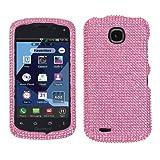 MYBAT Pink Diamante Protector Cover(Diamante 2.0) for PANTECH ADR910LVW (Marauder)