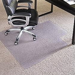 3. ES Robbins EverLife Anchor Bar Lipped Vinyl Chair Mat