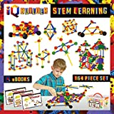 IQ BUILDER | STEM Learning Toys | Creative Construction Engineering | Fun Educational Building Toy Set for Boys and Girls Ages 3 4 5 6 7 8 9 10 Year Old | Best Toy Gift for Kids | Top Blocks Game Kit