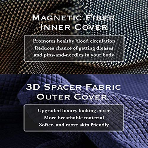 Product Image 6: matvio Back Support Pillow for Office Chair - Ergonomic Posture Corrector Pure Memory Foam Lumbar Cushion - Perfect Backrest for Car, Desk, Recliner Chair and Any Seat