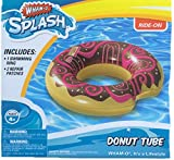 Wham-O Inflatable Chocolate Donut Water Tube Pool Float by Donut Tube