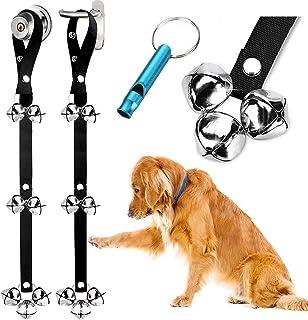 2 Pack Dog Doorbells Premium Quality Training Potty Great Dog Bells Adjustable Door Bell..