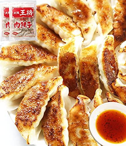 大阪王将 肉餃子 50個入×2(合計100個) たれ×12袋付