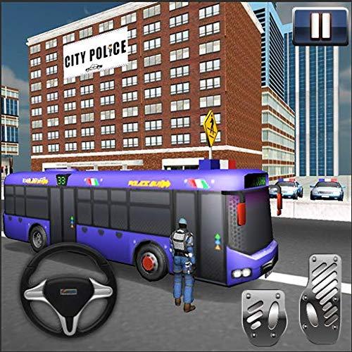 Police Bus Driving Simulator - Bus Simulation
