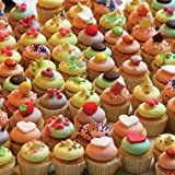 TDC Games World's Most Difficult Jigsaw Puzzle, Double Sided Cupcakes - 500 pieces