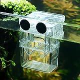 SENZEAL Aquarium Pondoir En Plastique Boîte D'élevage De Poisson Flottant Isolation Hatchery Box avec 3pcs...