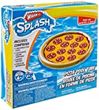 4 Season Wham-O Splash Pizza Inflatable Pool Float 8.3 x 7.5 x 2.3 inches Tan, Yellow and Red 1 pc