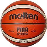 MOLTEN BGF7X-DBB Pelota de Baloncesto Beige, Negro, Naranja Interior - Pelotas de Baloncesto (Específico, Beige, Negro, Naranja, Imitación Piel, Interior, Estampado, Fiba)