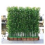 ADosdnn Plantes artificielles 100/150 / 180cm Faux en Bambou Hôtel Aménagement paysager Décoration intérieure Plantes d'intérieur Faux Plantes Bonsai (Color : 10pcs 150cm no Pot)