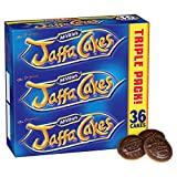 Original English Mcvities Jaffa Cakes Triple Pack Imported From The UK England The Very Best Of British Jaffa Cakes A Genoise Sponge Base A Layer Of Orange Flavored Jam A Coating Of Spongy Chocolate