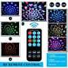 Disco Ball Disco Lights-COIDEA Party Lights Sound Activated Storbe Light With Remote Control DJ Lighting,Led 3W RGB Light Bal, Dance lightshow for Home Room Parties Kids Birthday Wedding Show Club Pub #1