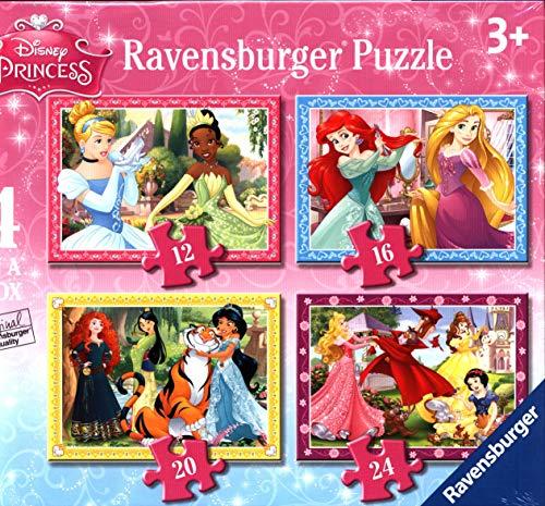 Ravensburger Disney Princess Puzzle per Bambini, Multicolore, 72 Pezzi, 07397