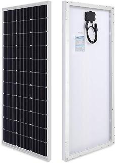 Renogy 100 Watt 12 Volt Monocrystalline Solar Panel, Compact Design 42.2 X 19.6 X 1.38..