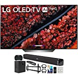 LG OLED77C9PUB 77-inch C9 4K HDR Smart OLED TV with AI ThinQ (2019) Bundle with Deco Gear 60W...