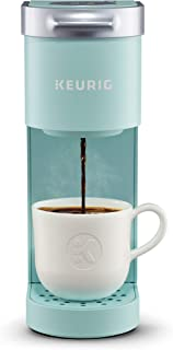 Keurig K-Mini Coffee Maker, Single Serve K-Cup Pod Coffee Brewer, 6 to 12 Oz. Brew Sizes, Oasis