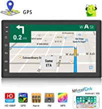 Double Din Android Car Navigation Stereo 1G/16G Car Entertainment Multimedia Radio Indash..