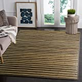 Bamboo 5' X 8' (60'x96') Floor Mat Area Rug, Bamboo Floor Runner Indoor Carpet, Rustic Olive Color Finish, Non Skid Backing, Floor Rug Runner Mat for Living Room, Hallway, Kitchen, Office