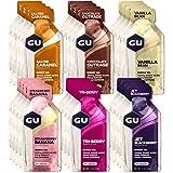 GU Energy Original Sports Nutrition Energy Gel, 24-Count, Assorted Flavors