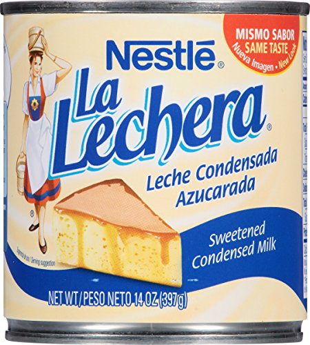 La Lechera Sweetened Condensed Milk, 14 Ounce (Pack of 12)