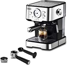 Espresso Machines 15 Bar Coffee Machine with Milk Frother Wand for Espresso, Cappuccino,..