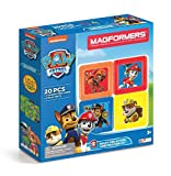 Magformers Paw Patrol 20 Pieces Ready for Action Construction, Rainbow Colors, Educational Magnetic Geometric Shapes Tiles Building STEM Toy Set Ages 3+ (Toy)