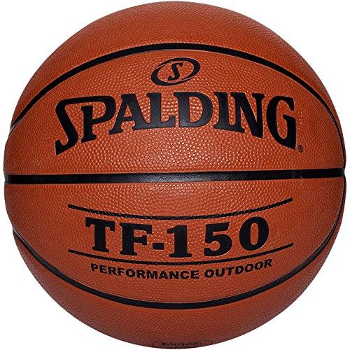 Spalding - Pallone da Basket TF150 out, Arancione (Arancione), 6
