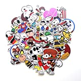 Peanut Comic Sticker PVC Impermeable Maleta para portátil violín Car Trolley Maleta Pegatina 41PCS