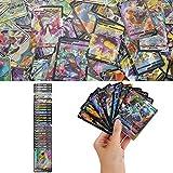 YNK Cartes de Jeu Pokemon, Ensemble de figurines Pokemon Cartes Pokemon GX,...