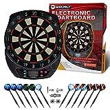 WIN.MAX Electronic Dart Board,Soft Tip Dartboard Set LCD Display with...