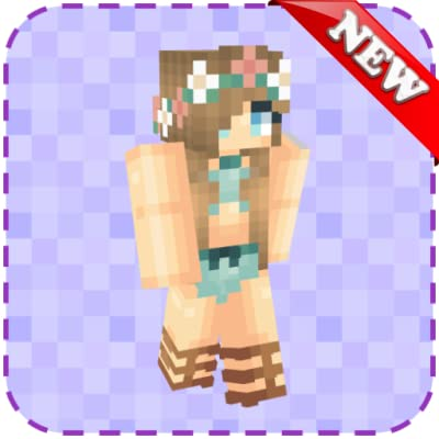 "Interactive Virtual 3D Skin preview View your skins from many different angles with 3D Touch interaction Download skin to gallery (""Bikini Skins for Minecraft"" folder) Apply skin to Minecraft PE More than 600 skins"